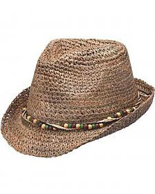 Peter Grimm Hedy Ladies Straw Fedora
