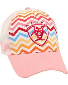 Ariat Women's Rainbow Chevron Mesh Ballcap