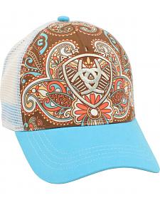 Ariat Women's Western Paisley Ballcap