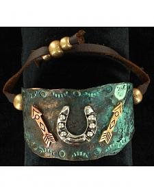Blazin Roxx Horseshoe and Arrows Bracelet