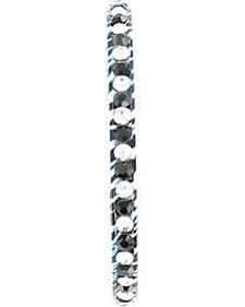 Blazin Roxx Rhinestone Embellished Zebra Bracelet