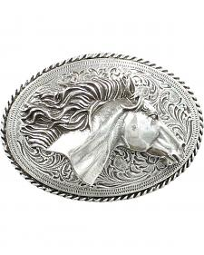 Nocona 3D Horse Head Buckle