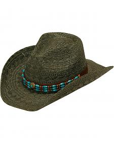 Blazin Roxx Beaded Woven Cowgirl Hat