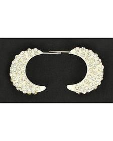 Blazin Roxx Crystal Hoop Earrings