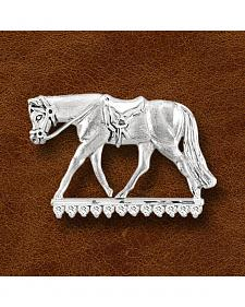 Kelly Herd Sterling Silver English Horse Pendant