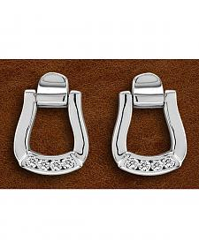 Kelly Herd Sterling Silver Oxbow Earrings
