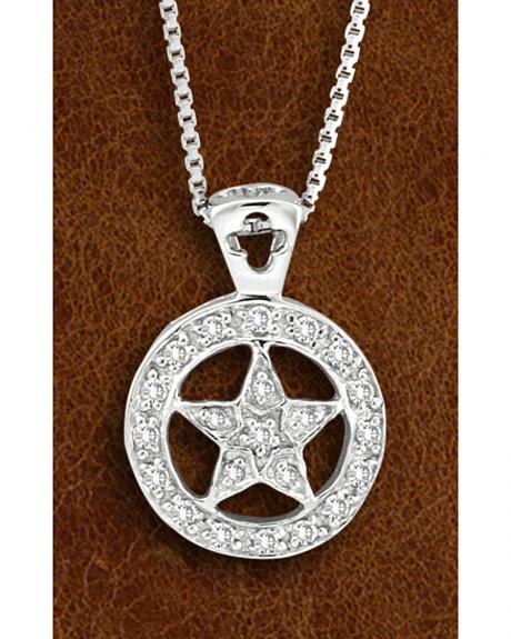 Kelly Herd Sterling Silver Western Star Necklace