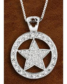 Kelly Herd Sterling Silver Large Western Star Necklace