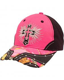Blazin Roxx Women's Cross and Wings Cap