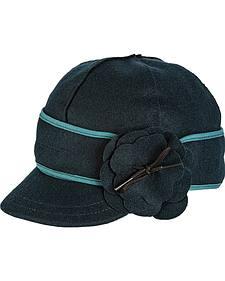 Stormy Kromer Women's Blue Spruce Petal Pusher Cap