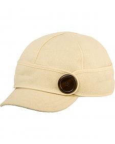 Stormy Kromer Women's Winter White The Button Up Cap