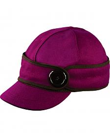 Stormy Kromer Women's Raspberry The Button Up Cap