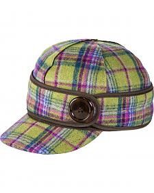 Stormy Kromer Women's Aurora Plaid The Button Up Cap