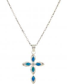 Montana Silversmiths Women's River Lights Waters of Faith Necklace