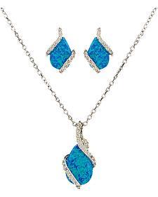 Montana Silversmiths Women's River Lights Twin Paths Jewelry Set