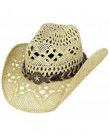 Bullhide Naughty Girl Straw Cowgirl Hat