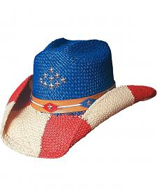 Bullhide Patriot Straw Cowgirl Hat