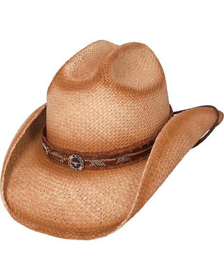 Bullhide Trail Boss Straw Cowgirl Hat