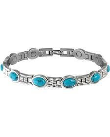 Sabona Ladies' Turquoise Magnetic Bracelet