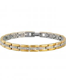 Sabona Ladies' Executive Regal Duet Magnetic Bracelet