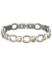 Sabona Horseshoe Link Magnetic Bracelet