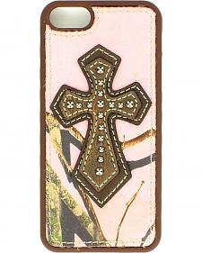 Blazin Roxx Cross Applique Camo iPhone 5 Case