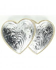 Crumrine Double Heart Buckle