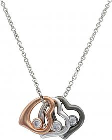 Montana Silversmiths Women's Hearts of a Different Color Necklace