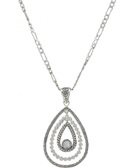 Montana Silversmiths Women's Hidden Treasure Raindrop Necklace
