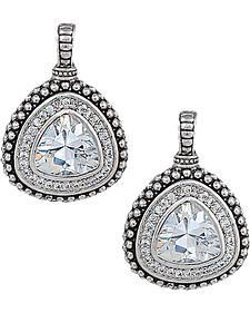 Montana Silversmiths Women's Western Drop Rounded Triangle Earrings