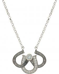Montana Silversmiths Women's Triple the Luck Necklace