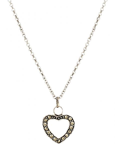 Montana Silversmiths Women's Sparks Will Fly Night's Heart Necklace