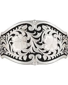 Montana Silversmiths Women's Dancing Daisies Scalloped Cuff Bracelet