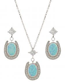 Montana Silversmiths Women's River Lights Pond of Luck Jewelry Set