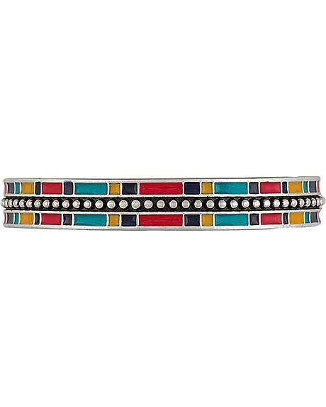 Wrangler Rock 47 by Montana Silversmiths Tribal Flair Cuff Bracelet