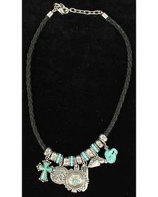 Blazin Roxx Turquoise Charm Necklace