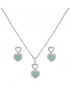 Montana Silversmiths River Lights in Love Jewelry Set