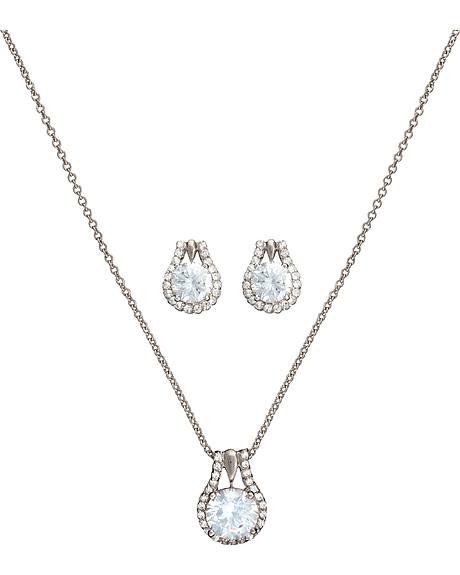 Montana Silversmiths Star Lights Center of My Universe Jewelry Set