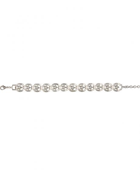 Montana Silversmiths A Star Covered Path Bracelet