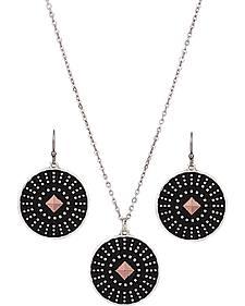 Montana Silversmiths CrossCut Dark Star Jewelry Set