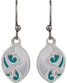 Montana Silversmiths A Spring's Breeze Earrings