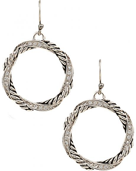 Montana Silversmiths Twisted Coil Earrings
