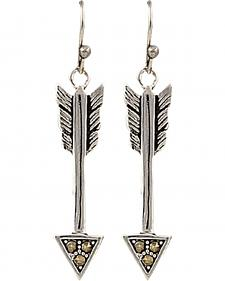 Montana Silversmiths Sparks Will Fly True Arrow Earrings