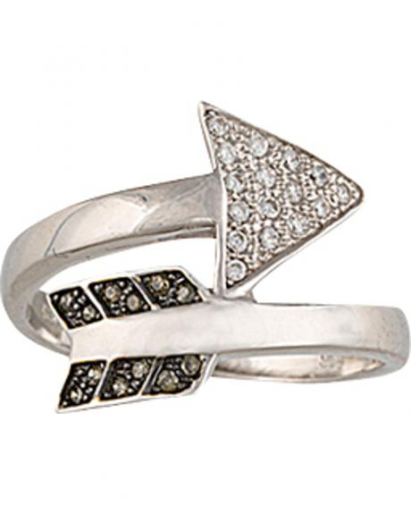 Montana Silversmiths Sparks Will Fly Twisted Arrow Ring