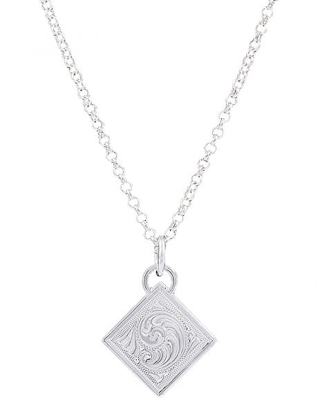 Montana Silversmiths Diamond Token Necklace