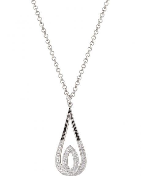 Montana Silversmiths Frost's Candlelight Necklace