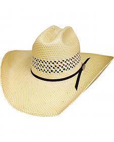 Bullhide Justin Moore Lettin' The Night Roll 100X Shantung Straw Cowgirl Hat