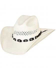 Bullhide Justin Moore Small Town USA 100X Shantung Straw Cowgirl Hat