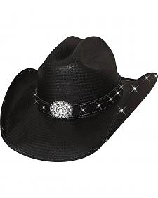 Bullhide Terri Clark Here For a Good Time Straw Cowgirl Hat