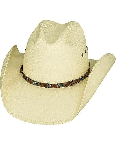 Bullhide Classic Shantung Panama Straw Cowgirl Hat Western & Country 2736